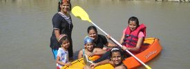 Kids Boating at Picnic Pune