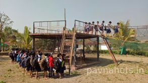 school picnic organised at pavna huts 2