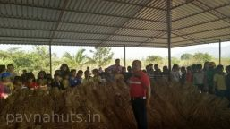 school picnic organised at pavnahuts near pune 2